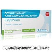 Амоксицилин, клавулонска киселина: примена инструкции аналози