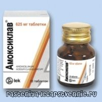 Amoxiclav - настава, употребата на аналози, дозирна, индикации, несакани ефекти, состав