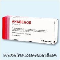 Anavenol - настава, употреба на аналози, индикации, контраиндикации