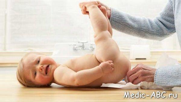 Než se k léčbě průjmu u kojenců