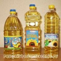 Слънчогледово олио - калории, полза и вреда, композиция, лечение