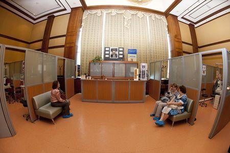 На услугите на клиниката око на Газпром