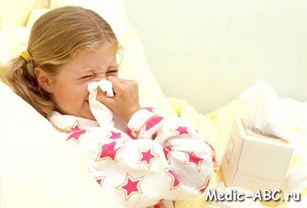 ARI u dětí v epidemické sezóny