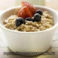 Овесена каша с мляко: калории рецепта