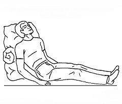 Primul ajutor pentru criză hipertensivă - conduce pacientul în poziție așezat pe jumătate
