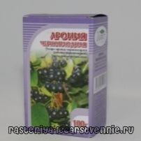 Fructele de chokeberry negre, proprietăți utile, aplicație