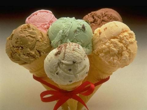 Употребата на сладолед за тело