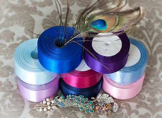 Свадба Свадба букет од сатен панделки со своите раце. Како да направите ружа од сатен панделки за свадбена церемонија?