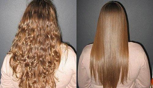 Кератин зацрвстувањето коса: рецензии